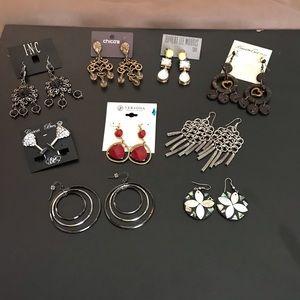 Earring Bundle 9 pieces